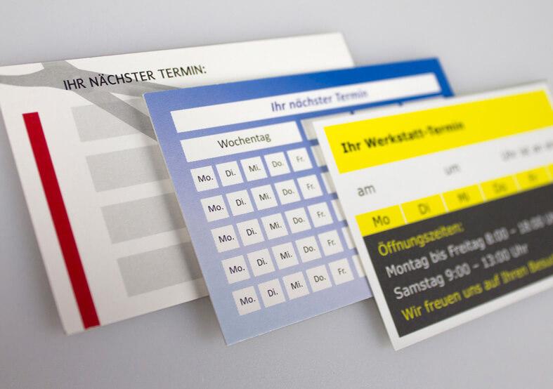 Bonus Terminkarten Günstig Online Drucken Flyerwire Com