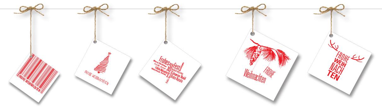 Ihre Weihnachtskarte für Firmen- und Businesskunden bedrucken
